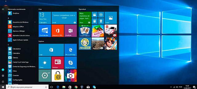 Novidades do Windows 10