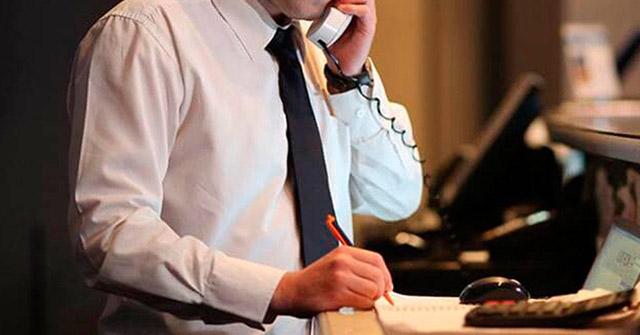 Procedimento básico no atendimento ao telefone/interfone