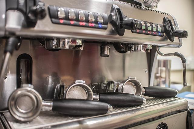 a maquina de cafe espresso