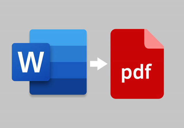 Método alternativo para exportar Word em PDF